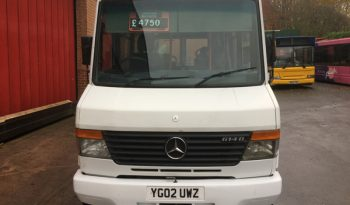 MERCEDES 614D VARIO SUITABLE FOR MOTOR HOME CONVERSION ETC – SOLD full