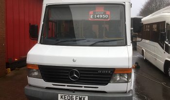 MERCEDES 814D VARIO UVG TREKA 24 SEATER BUS full